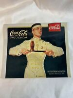 Coca-Cola Vintage Feel Calendar Seventeen Months September 1989-January 1991