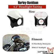 Motorcycle Headlight Fairing & Windshield For Harley Dyna Wide Glide Mid Glide