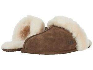 Women's Shoes UGG SCUFFETTE II Water Resistant Slide Slippers 1106872 ESPRESSO