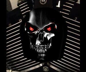 Harley Davidson Custom Horn cover Touring Dyna Softail Sportster M8  TERMINATOR