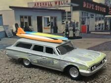 4th Generation 1960 - 1964 Ford Country Squire Surf  Wagon 1/64 Scale Ltd Ed E14