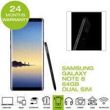 New Samsung Galaxy Note 8 Smartphone 64GB - Midnight Black (dual Sim)