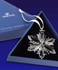 Sale Swarovski 2014 annual snowflake ornament brand new in box + Coa !