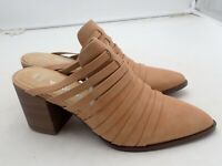 SONOMA Goods for Life Lhasa Apso Women's Mules with heels Tan size 9 M