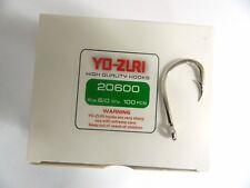 1 Confezione ami YO-ZURI 20600 size 6/0 Q'ty 100pcs HIGH QUALITY HOOKS pesca w39