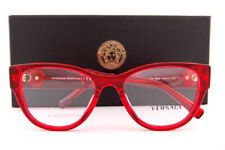 Brand New VERSACE Eyeglass Frames 3281B 5323 Red Crystal for Women Size 53mm