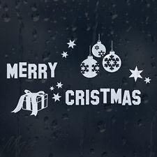 Feliz Navidad Decoraciones coche decal pegatina de vinilo