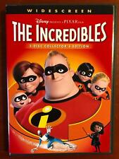 The Incredibles (Dvd, 2004, Disney Pixar 2-disc collectors edition, Ws) - H0110