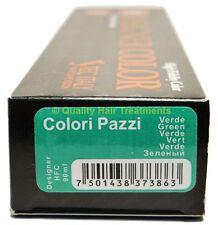Tec Italy Designer Color, Colori Pazzi Green / Verde Haircolor 3 oz