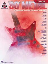 80's METAL GUITAR TAB / **BRAND NEW ** / 80's METAL GUITAR TABLATURE / SONGBOOK
