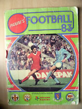 PANINI'S FOOTBALL 1983 STICKER ALBUM, 447 STICKERS Present