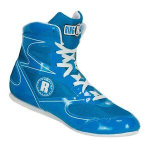 New Ringside Diablo Boxing Shoes - Blue / White - Mens - 10