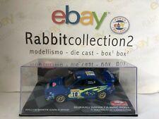 "DIE CAST "" SUBARU IMPREZA WRC 2001 RMC 2002 T. MAKINEN "" SCALA 1/43"