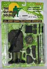 """Ultimate Soldier U.S. Army Radio Telephone Operator for 12"""" figures New Sealed"""
