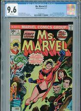 1977 MARVEL MS. MARVEL #1 1ST CAROL DANVERS AS MS. MARVEL CGC 9.6 WHITE BOX2