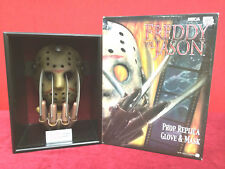 Extremely Rare! Freddy vs Jason Mask and Glove in Display LE of 2000 By Neca