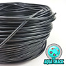 Black Air Line Flexible Silicone for Aquarium Air Pump - 4mm Hose Pond Tubing