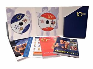Tony Horton 10 Minute Trainer 2 DVDs 6 Workouts Power 90 Sealed Books Lit