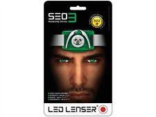 LED Lenser SE03 White & Red Night Vision CREE LED Head Torch Light Lamp, LED6103