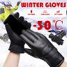 -30° Unisex Winter Ski Gloves Warm Snowboard Skiing Windproof Waterproof Mittens