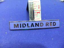 vtg badge midland red transport psv driver conductor uniform bus coach staff