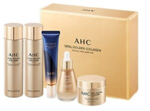 Korean Cosmetic AHC Vital Golden Collagen Skin care eye cream Special set