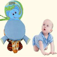 Intelligence Development Cloth Bed Cognize Book Educational Toy for Kid Baby -S