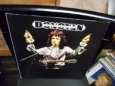 DONOVAN Live In Japan 1973 [w/ OBI Strip + 2 Inserts] LP 1973 Epic Records EX