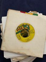 "Rare Reggae Dancehall Jamaica African Star 1990s 7""45 Bulk Job Lot x20 VG VG+"