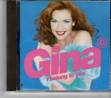 (FK808) Gina G, I Belong To You - 1996 CD