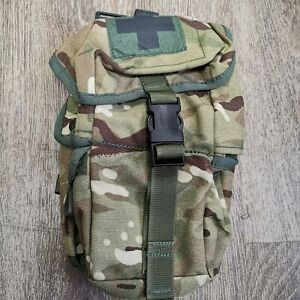 GENUINE MILITARY MTP FIRST AIDER TRAUMA PACK POUCH MEDICAL DPM IRR