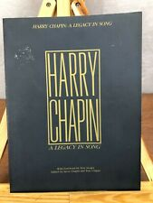 HARRY CHAPIN - A LEGACY IN SONG - SONGBOOK - SHEETMUSIC