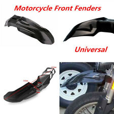 1x Universal Supermoto Front Fender For Harley Ktm Honda Yamaha Kawasaki Suzuki