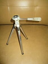 "AMBICO Mini Lightweight Adjustable Height Telescoping Tripod 10"" to 37"""