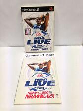 NBA LIVE 2001 (PS2) - VERSIONE GIAPPONESE - USATO PERFETTAMENTE FUNZIONANTE