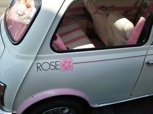 Classic Mini Graphics Rose 3 units made in Cheshire FREE P+P UK