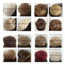Synthetic Bun Hairpiece, Hair Extension Cover, Natural, Messy, Curly, Scrunchie