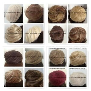 UK SELLER Curly Messy Bun Hair Piece Scrunchies Updo Cover Hair Extension