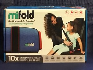 mifold Grab-and-Go Car Booster Seats 40-100 Lbs Advanced Compact Portable (X3)