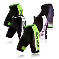 Mens Cycling Clothing Bike Bicycle Shorts 4D Silicone Padded Riding Shorts Pants