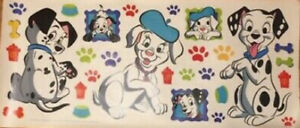101 DALMATIONS wall stickers 29 big decals dogs puppies bone paw prints hydrant