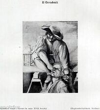 IL CAVADENTI, di Luigi Guidotti. Odontoiatria. Dentiste. Dentist. Zahnarzt. 1929