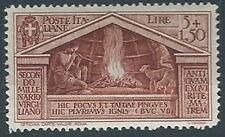 1930 REGNO VIRGILIO 5 LIRE LUSSO MH * - RR13313