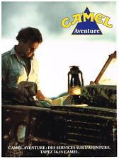 PUBLICITE ADVERTISING  1990   CAMEL AVENTURES 1