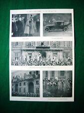 Nel 1922 Re Vittorio Emanuele III di Savoia a Milano Lloyd George, Megan Quarto