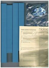 """Nielsen 8"""" x 10"""" Blue Metal Picture Frame Kit for Cross Stitch"""