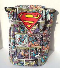 DC Comics SUPERMAN Knapsack School Bag Backpack  NEW