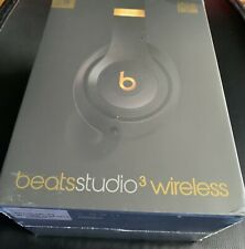 BEATS Studio 3 Wireless Bluetooth Headphones - Shadow Grey - New