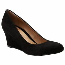 Mid Heel (1.5-3 in.) Plus Size Slip On Shoes for Women