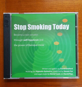 Stop Smoking Today - For Hypntherapists and Self Hypnosis 2 CDs - David Botsford